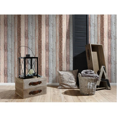 Tapet NEW ENGLAND 2, model Rustic, Superlavabil, Vlies, cod 855039
